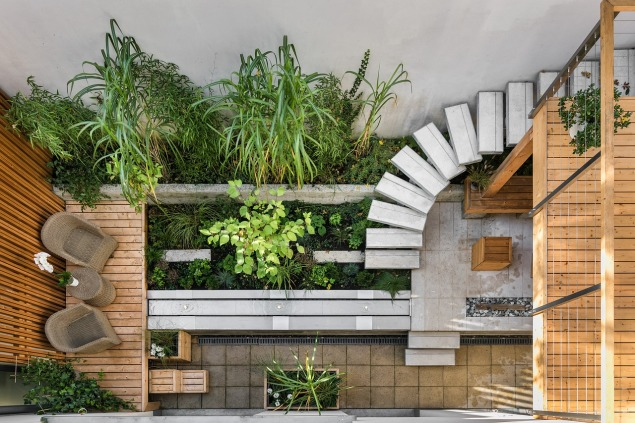 terrasse intérieure