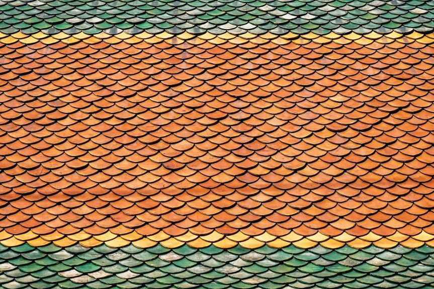 tuiles de couleur
