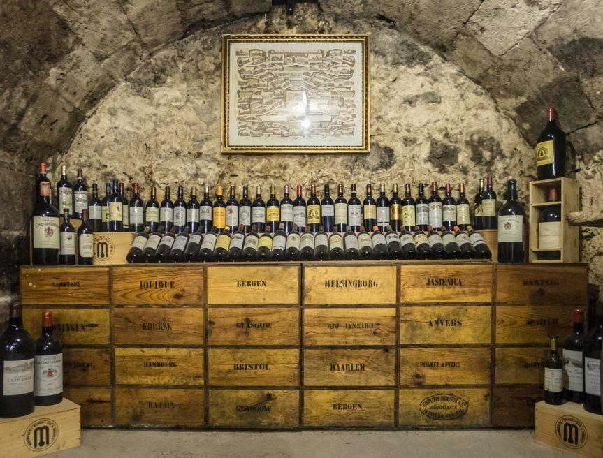 cave a vin voutée