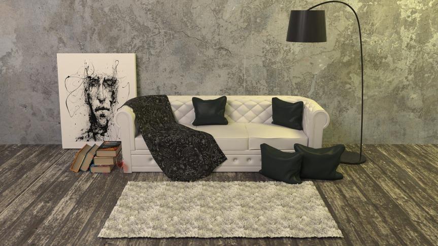 tapis sur plancher