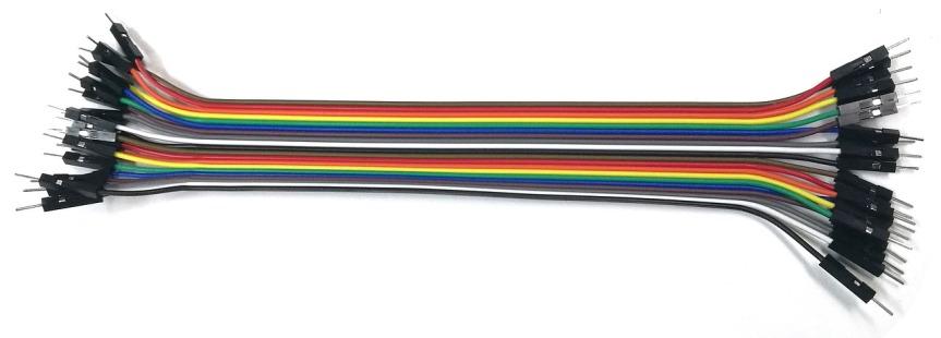 plusieurs cables electriques