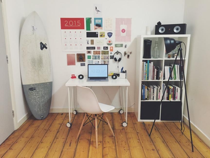 plancher dans bureau
